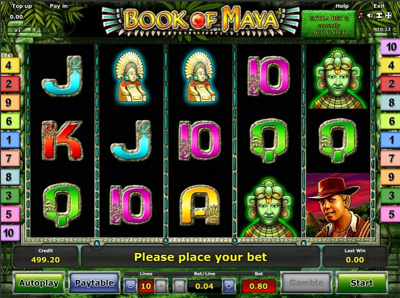 Ігрові автомати Book Of Maya