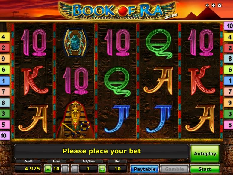 Ігрові автомати Book of Ra Deluxe