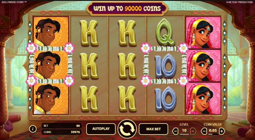 Ігровий автомат Bollywood Story