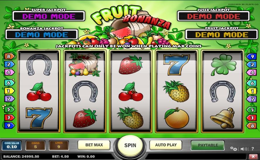 Ігровий автомат Fruit Bonanza