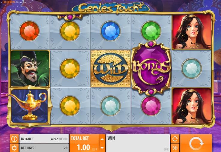 Ігровий автомат Genies Touch