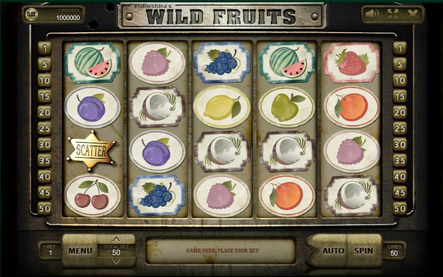 Ігровий автомат Wild Fruits