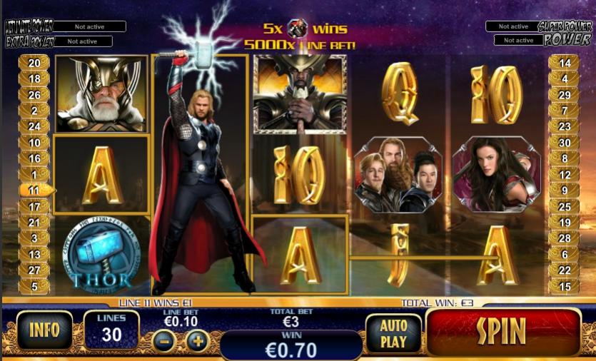 игровой автомат Thor