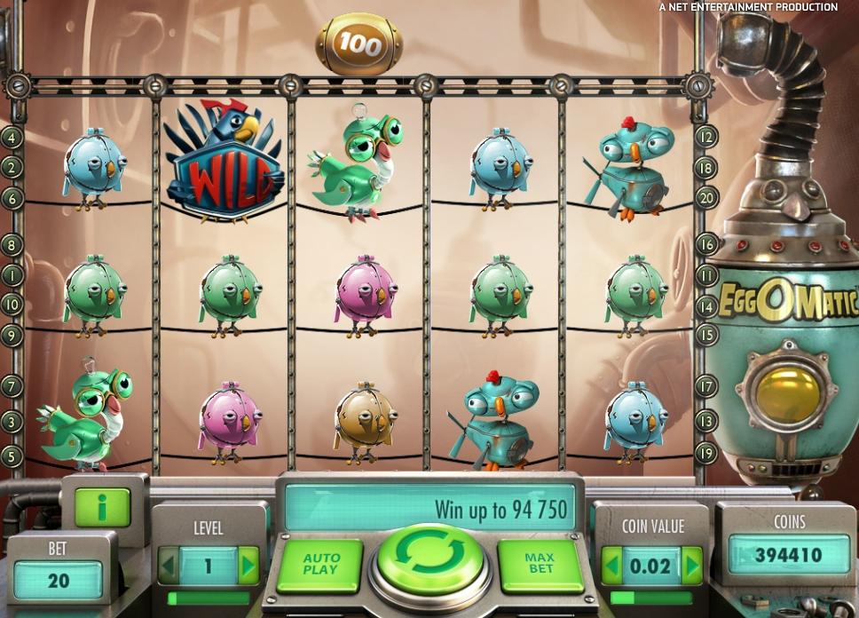 Ігровий автомат Eggomatic