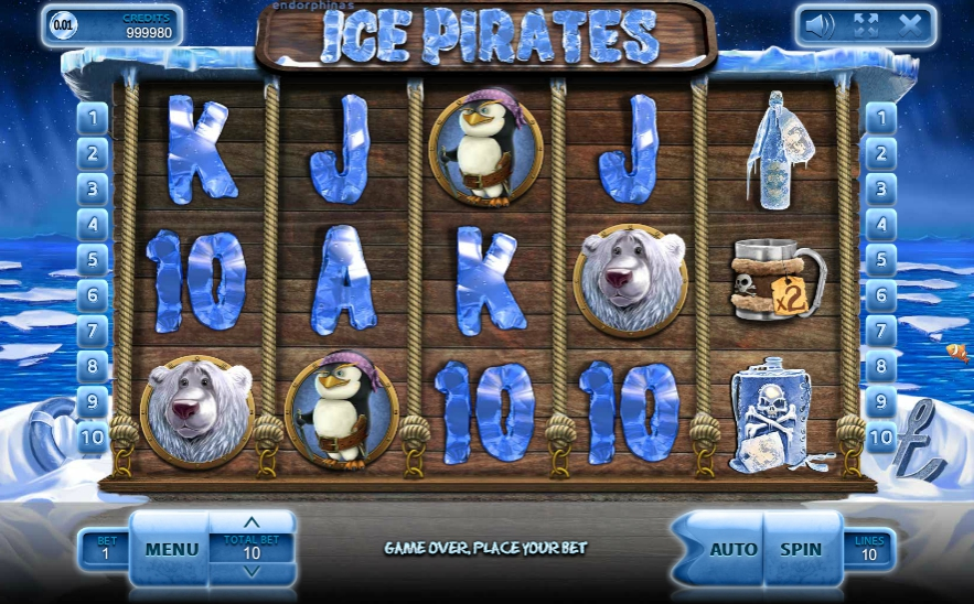 Ігровий автомат Ice Pirates