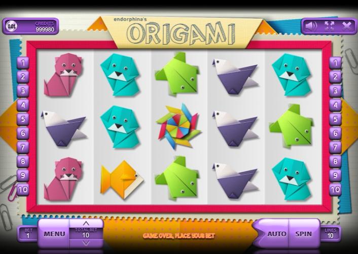 Ігровий автомат Origami