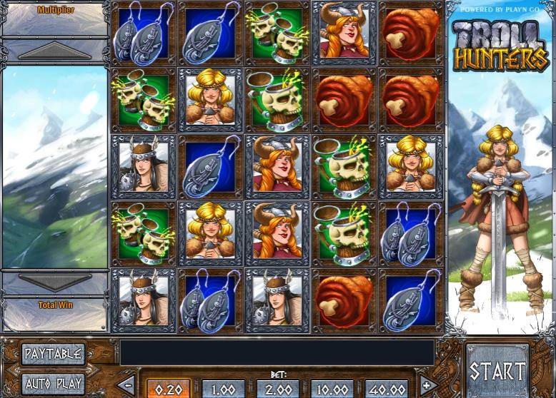 Ігровий автомат Troll Hunters